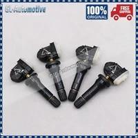 set of 4 tpms ev6t 1a180 cb tire pressure sensor for ford b max c max ecosport f 150 fiesta focus transit ev6t 1a180 cb 433mhz