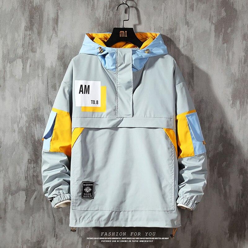 Chaqueta informal para hombre... ropa de calle a la moda... chaqueta con...