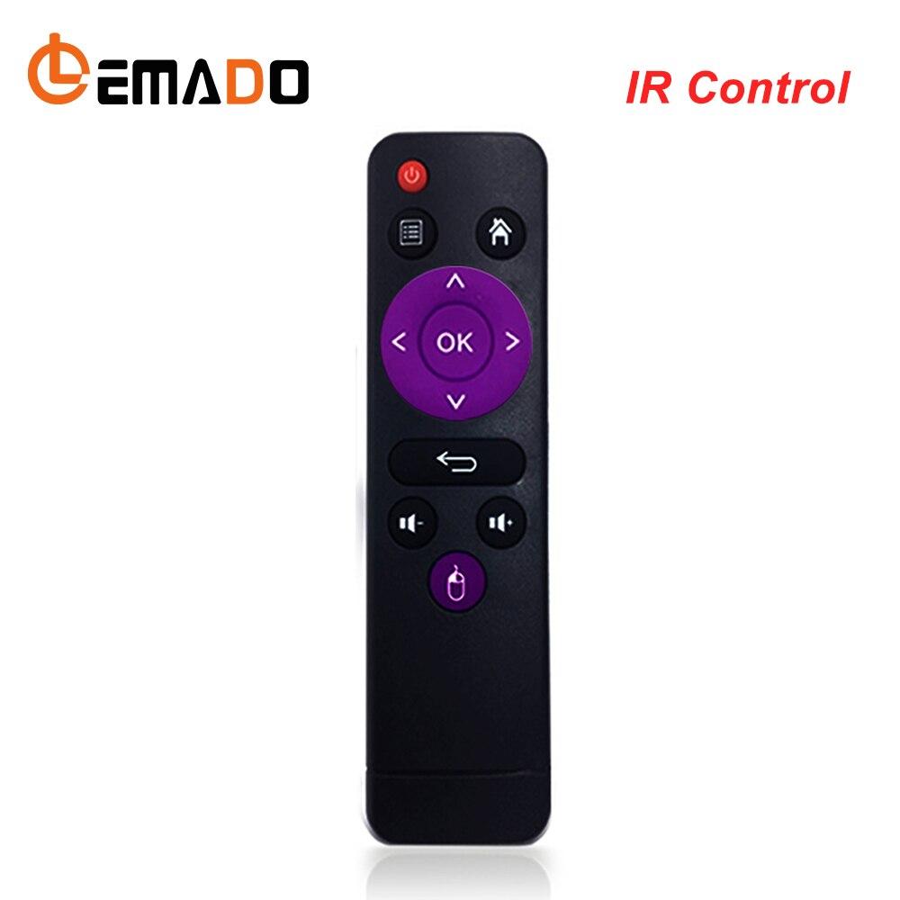 LEMADO Original de Control IR para H96 max TV Box 2,4G inalámbrico IR ratón para Android tv caja de H96.