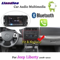 car android 8 navigation system for jeep liberty 2008 2013 stereo multimedia player radio carplay tv wifi cd dvd gps hd screen