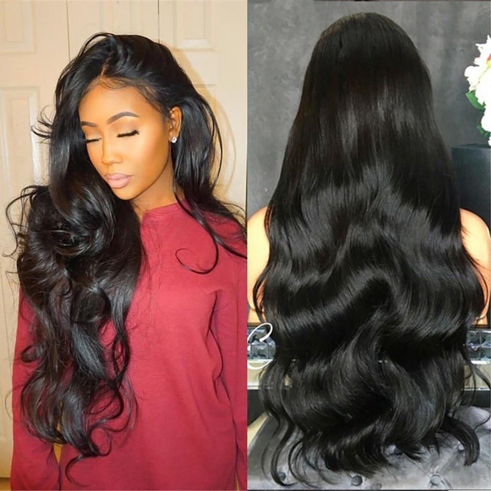 70cm longo encaracolado corpo sintético perucas onduladas de água para preto feminino longo comprimento resistente ao calor lolita peruca para preto # g30
