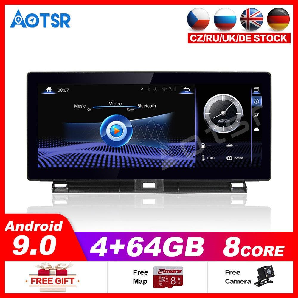 Auto Multimedia-Player Stereo GPS DVD Radio NAVI Navigation NAVI Android 9 Bildschirm für Lexus NX AZ10 NX200t NX300 NX300h 2015 ~ 2019
