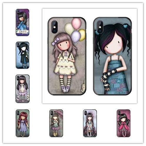 Cartoon Lovely Santoro Gorjuss Coque TPU Soft Silicone Phone Case For iPhone 11 Pro Max X XS MAX 8 7 6 Plus 5 5E SE