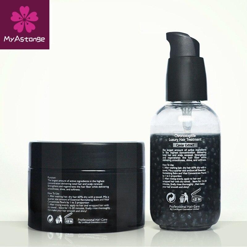 PURC-extracto de Caviar chronlogiste, conjunto de tratamiento para el cabello de lujo,...