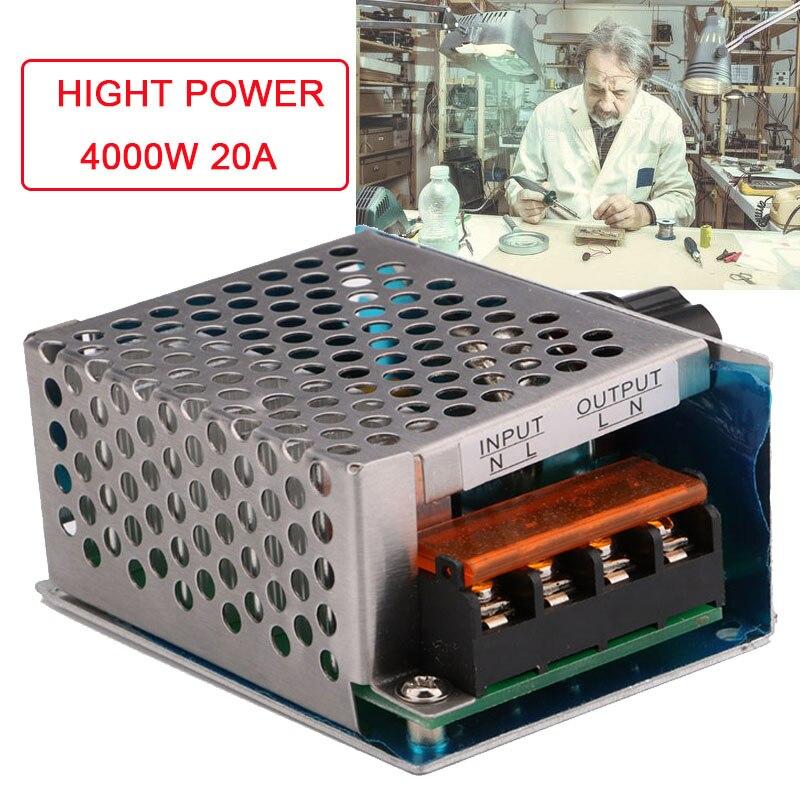 Оптовые продажи 2000-10000 Вт регуляторы напряжения высокая мощность SCR ШИМ контроллер AC220V Электропитание регулятор электрооборудования