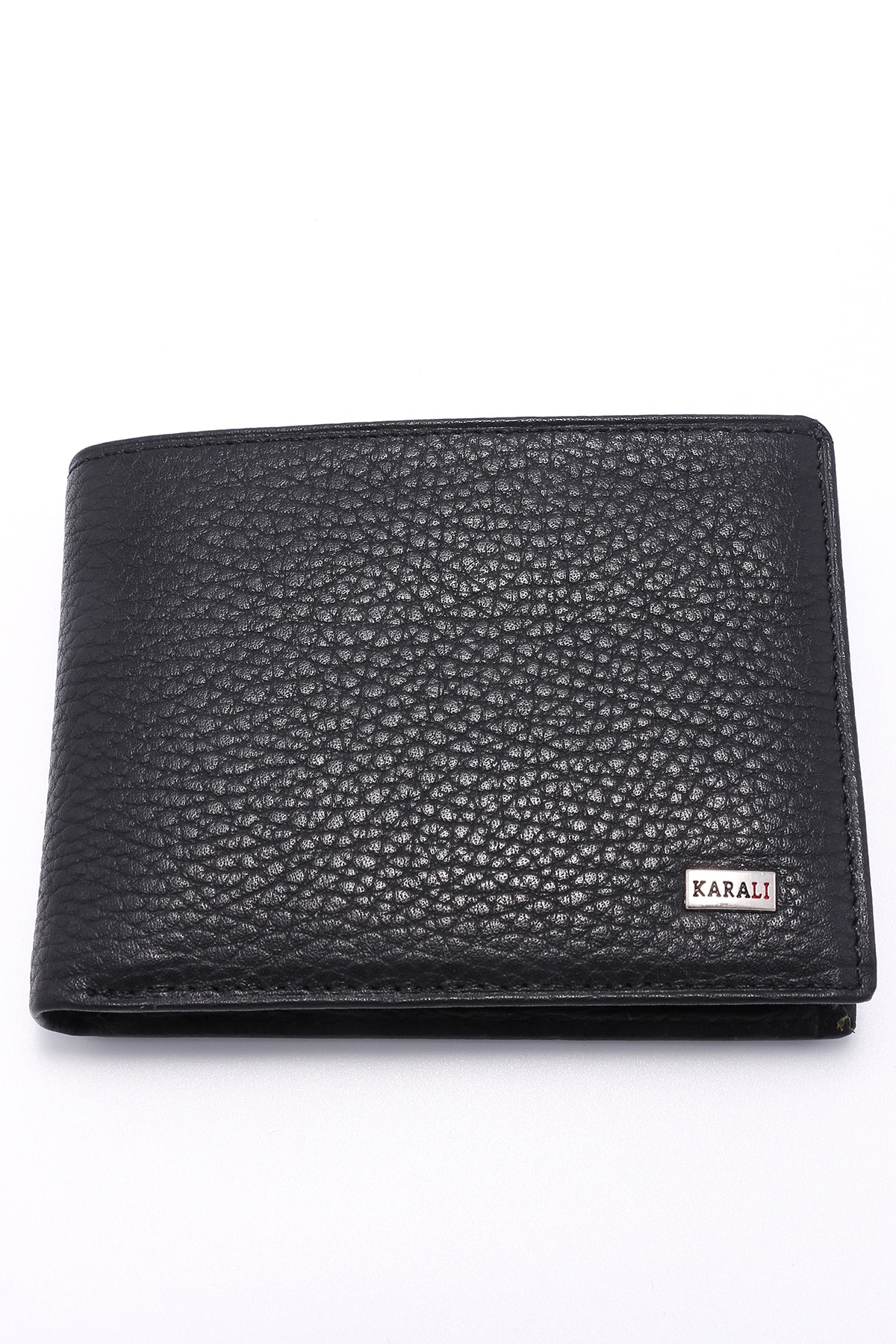 100 real Genuine Leather Black Men S Wallet