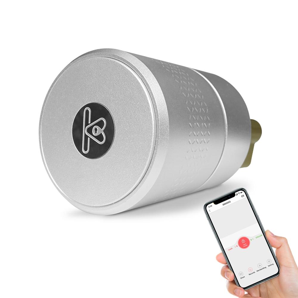 Bloqueio de impressão digital biométrico tuya, fechadura inteligente de segurança com wifi app senha rfid desbloquear, fechadura da porta eletrônico hotel