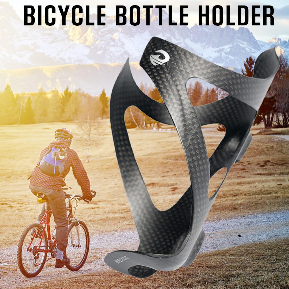 Soporte para botella de agua de bicicleta, soporte para tetera, soporte de fibra de vidrio para estantería para agua de montaña o carretera