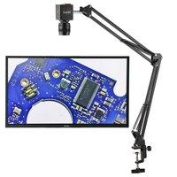Цифровая промышленная видеокамера-микроскоп SONY IMX307, 2021 P, HDMI, VGA + большое расстояние работы 35 мм, объектив с фиксированным фокусом, 1080