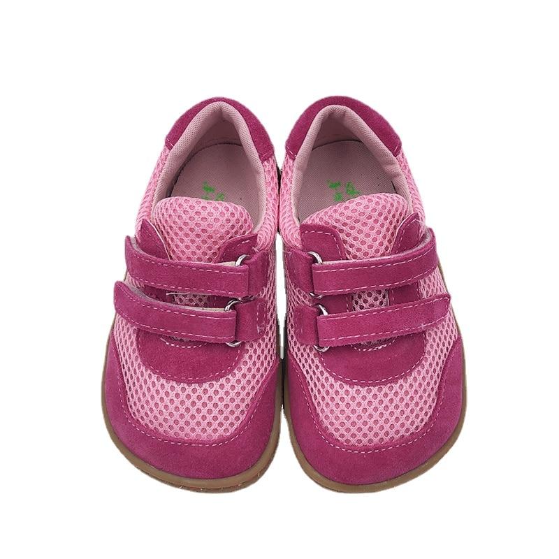 Tipsietoe الماركة العلوية 2021 الربيع المألوف صافي تنفس احذية الجري الرياضية للفتيات والاولاد الاطفال حافي القدمين أحذية رياضية