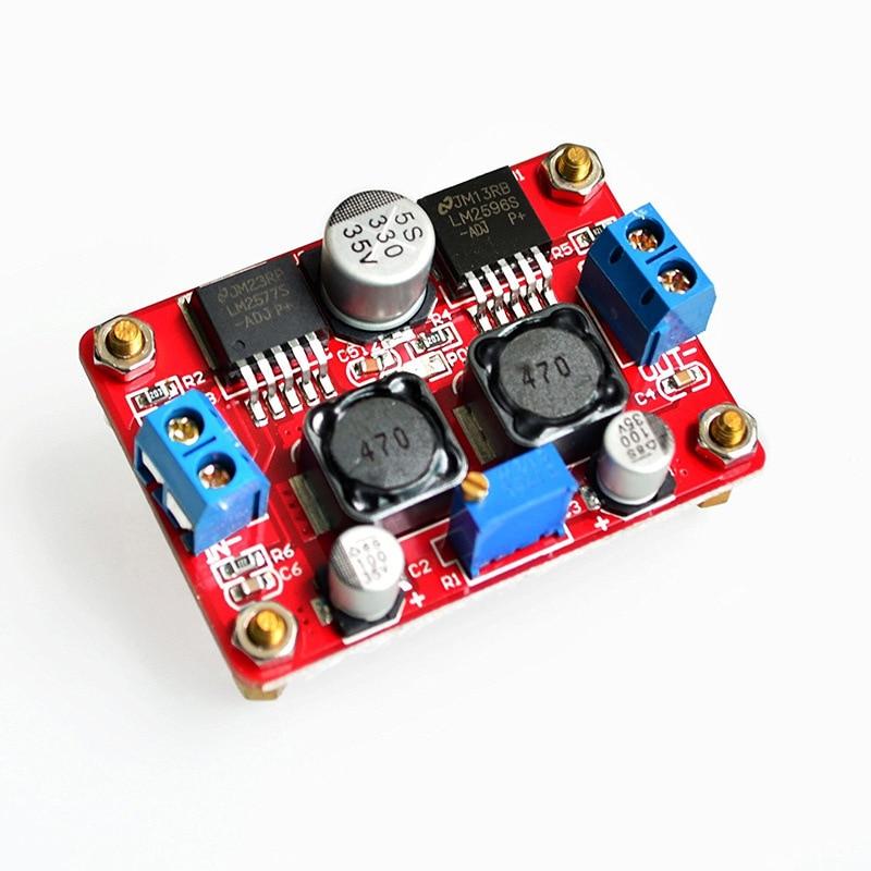 Módulo reductor de DC-DC de amplio voltaje Lm2577 y Lm2596 1 Uds.