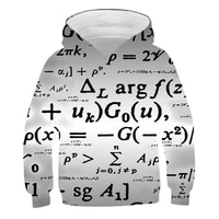 3d print fashion art mathematician hoodies boy hoodies sweatshirts pullover anime girl hoodies sweatshirt kids tracksuit jackets