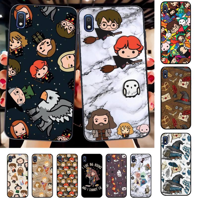 Hogwarts Potter Harries Yinuoda Caixa Do Telefone para Samsung A30s 51 71 10 70 20 40 20s 31 10s A7 A8 2018
