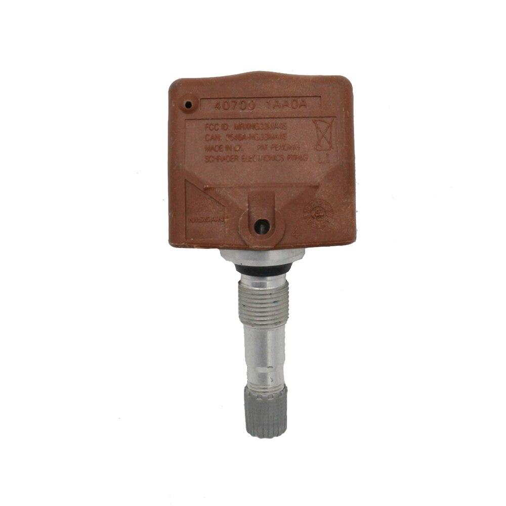 Nuevo 40700-1AA0A TPMS Sensor de presión de neumáticos de 315MHZ para Nissan 350Z Altima para Infiniti EX35 FX35 G35 FX45 FX50 G25 G37 M35 M35H