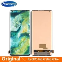 original amoled display replace 6 7for oppo find x2 pro lcd touch digitizer screen assembly cph2025 pdem30 cph2023 pdem10