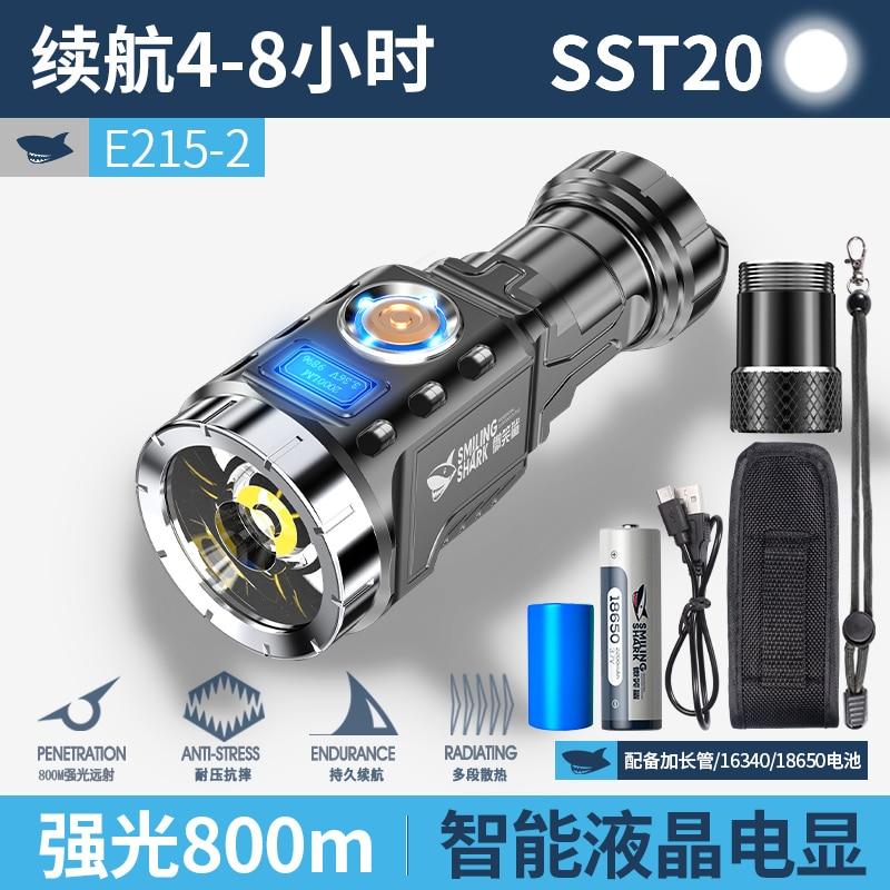 Portable Powerfu Flashlight Camping Military Tactical Multifunction Bicycle Flashlight Linterna Led Lighting Torches DB60SD enlarge