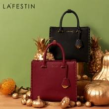 LA FESTIN Designer 2021 NewTrendy Bags Women Bags Shoulder Large-capacity Messenger Bag Tassel Leath
