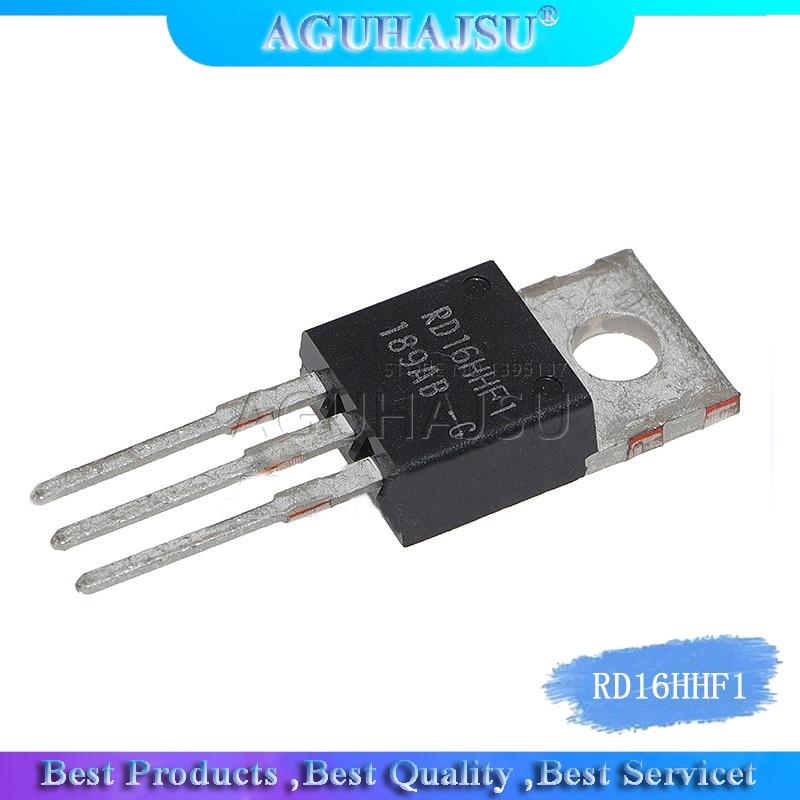 5 pçs/pçs/lote ic chips rd16hhf1 3 pinos para-220 mosfet transistor 30 mhz circuito integrado de alta qualidade