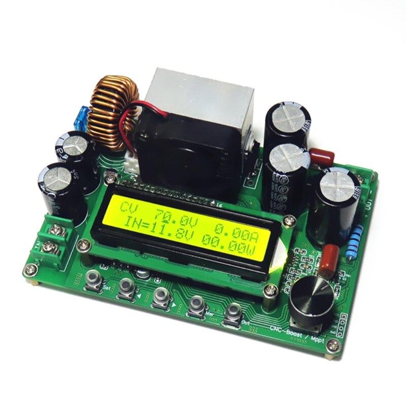 DPX800S DC-DC NC CV CC الداعم وحدة دفعة 12 فولت ~ 120 فولت 0-15A قابل للتعديل MPPT
