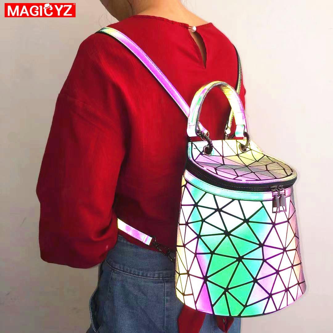 Светящийся Многофункциональный рюкзак для девочек-подростков, сумка-мешок для путешествий, маленькая школьная сумка, женские рюкзаки, mochila