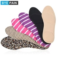 1pair byepain women high heels sponge shoe insoles cushions pads diy cutting sport arch support orthotic feet care massage