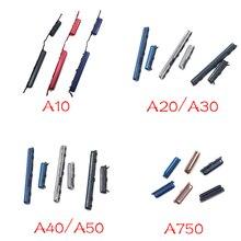 Para Samsung A10 A105F A20 A205F A30 A305F A40 A405 A50 A750 de volumen lado botón clave