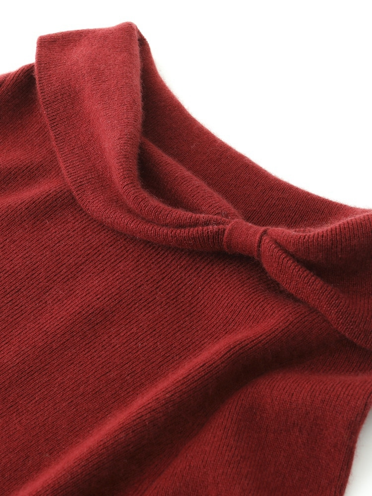 Elegant  Women's Wear 100% Pure Cashmere Knitted Sweaters Girl Winter 2021 Long Sleeve Soft Warm Jumpers Ladies Pullovers enlarge