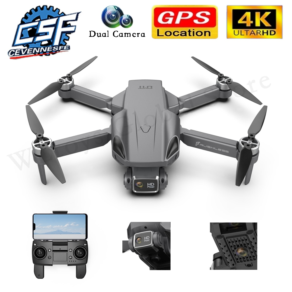 2021 NEW H9 MAX Drone 4K HD Dual Camera With GPS 5G Wifi Image Transmission Foldable Portable Profesional Quadcopter RC Dron Toy