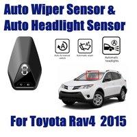 Smart Car Accessories Driving Assistant For Toyota RAV4 RAV 4 2013-2019 2.5L Auto Automatic Rain Wiper & Headlight Sensor