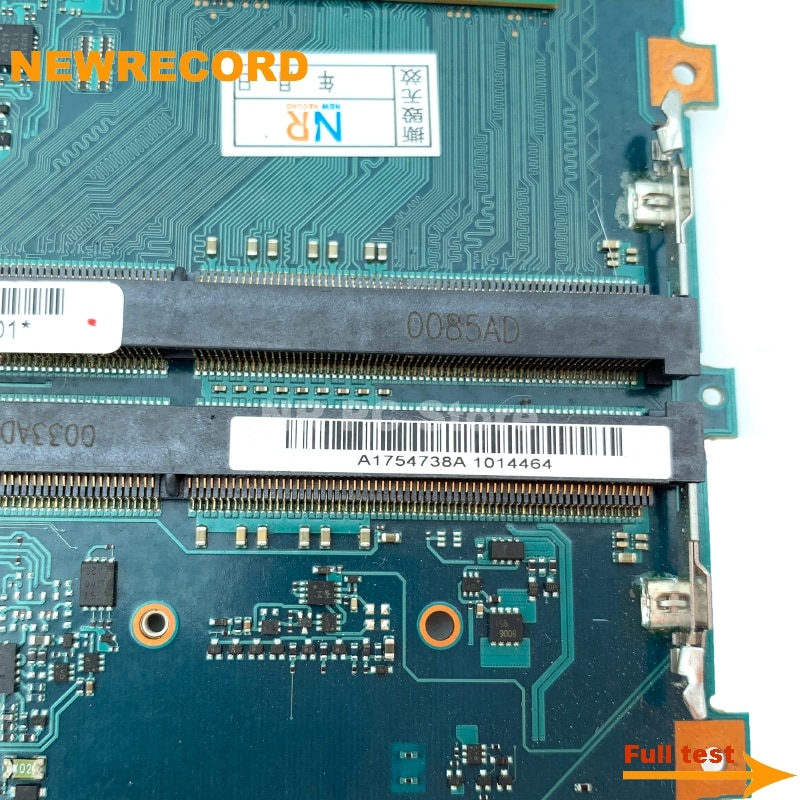 Купить с кэшбэком NEWRECORD For Sony Vaio VPCZ1 Laptop Motherboard A1754738A MBX-206 Main Board i5-520M CPU DDR3 fully tested