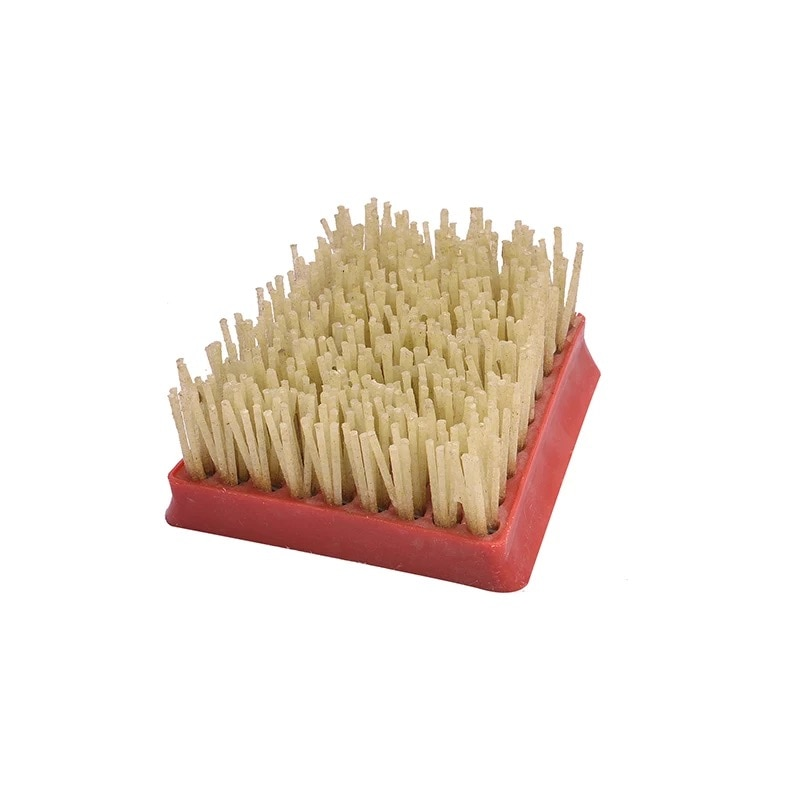Diamond Frankfurt Antique Abrasive Brush for Leather Surface Polishing Abrasive Antiquing Grinding Tool For Stone Cleaning