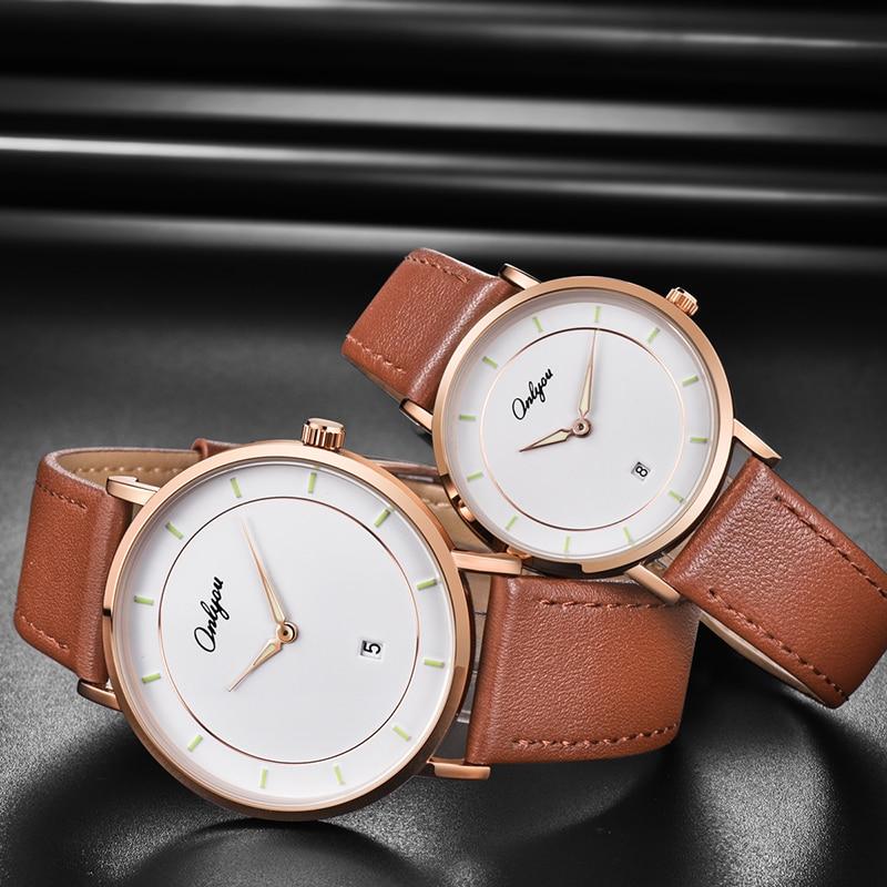 Фото - Часы onlyou для пар, женские роскошные часы, автоматические часы, подарок для мужчин, роскошные часы, автоматические часы, женские часы, мужские... часы