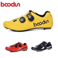 boodun road cycling shoes carbon fiber ultra light breathable sapatilha ciclismo riding bicycle add spd sl bike pedals bicicleta