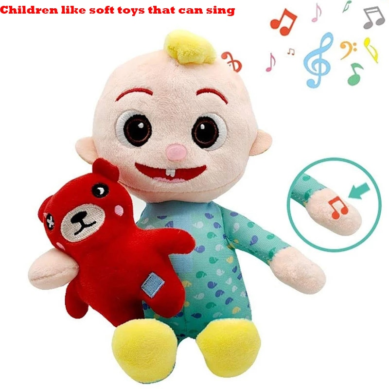 New Cute Plush Toy Doll Jojo Doll Music Doll Children's Toy Holiday Gift Decoration Baby Toy Doll Gift Movie and TV Action Doll cute resin bride and bridegroom toy doll