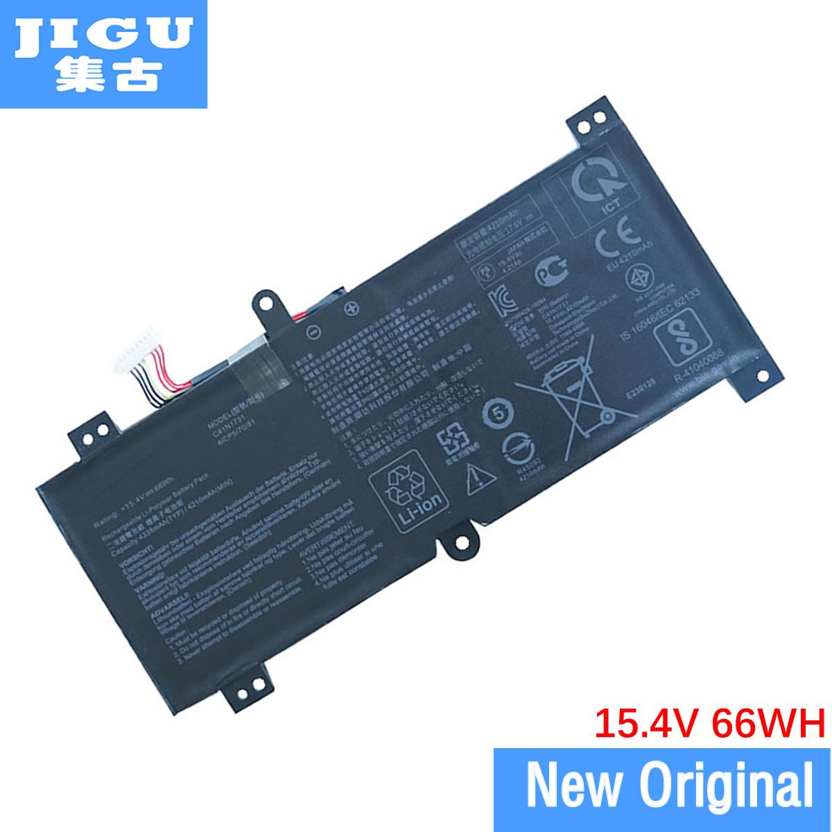 JIGU الأصلي بطارية كمبيوتر محمول 0B200-02940000 ل ASUS C41N1731 GL504 GL504GM GL504GS ل ROG Strix GL504GM-ES175T