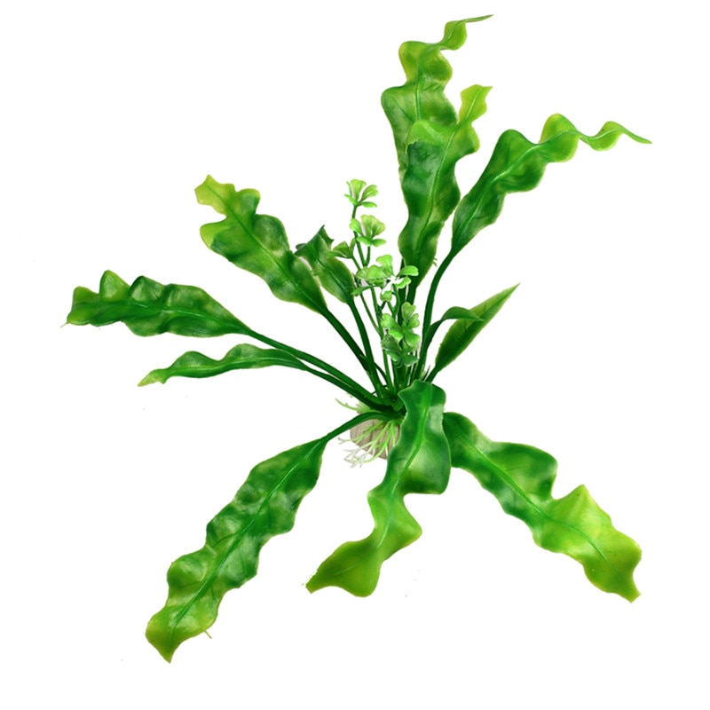 Planta de agua de plástico Artificial para acuario decoración de peceras acuáticas decoración de flores de hierba accesorios acuáticos # R15