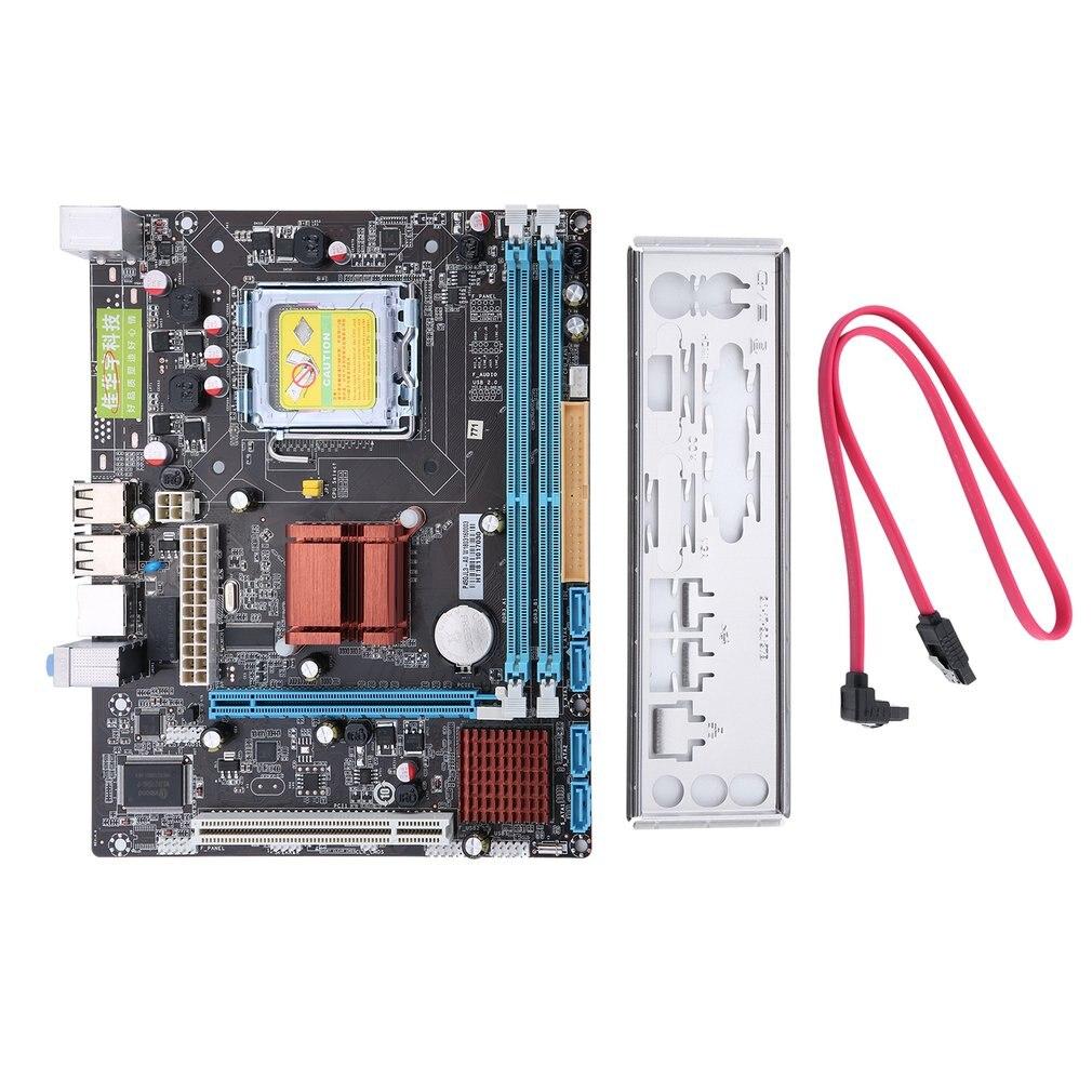 Yüksek mp287 P45 bilgisayar Gigabit Ethernet anakart anakart 771/775 çift kurulu DDR3 desteği L5420 2 DDR3 Intel masaüstü
