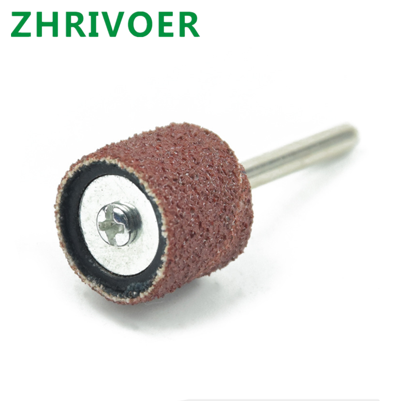 Sandpaper ring grinding head sandpaper roll metal derusting polishing wheel Bodhi peeling tool sandpaper grinding ring