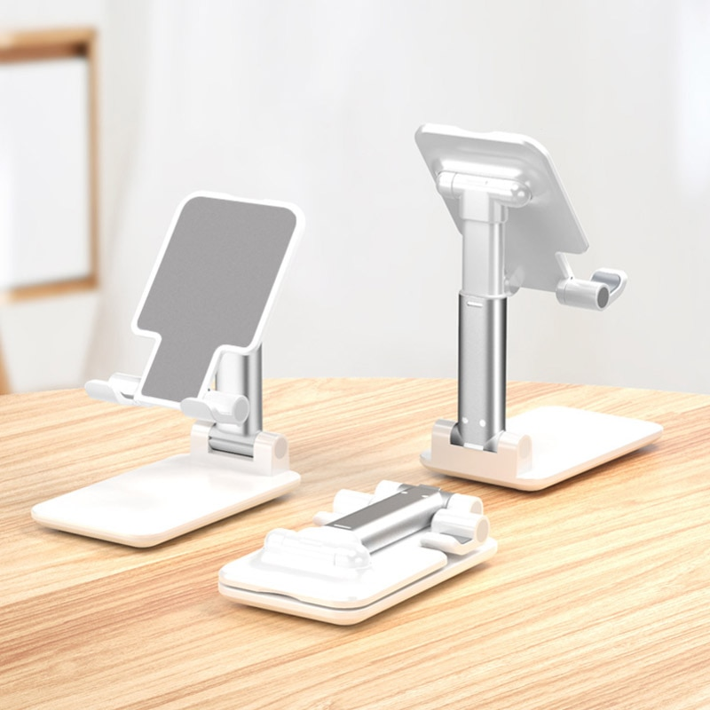 Desk Mobile Phone Holder Stand for IPhone IPad Xiaomi Huawei Metal Desktop Tablet Holder Table Cell
