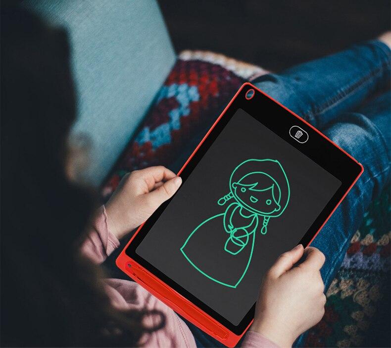 Juguetes de dibujo, tabletas ultrafinas de 8,5 pulgadas, tablero portátil para escribir y escribir, juguete para niños, tablero de dibujo, juguetes educativos para edades tempranas