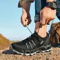 new men outdoor hiking shoes women climbing trekking shoes uniesx climbing walking sneskers sport hunting shoes athletic