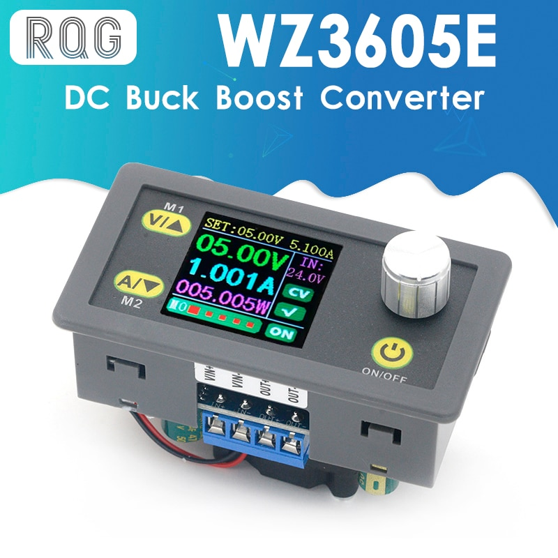 WZ3605E تيار مستمر تيار مستمر باك دفعة محول CC CV 36 فولت 5A وحدة الطاقة قابل للتعديل ينظم مختبر امدادات الطاقة الفولتميتر أمبير