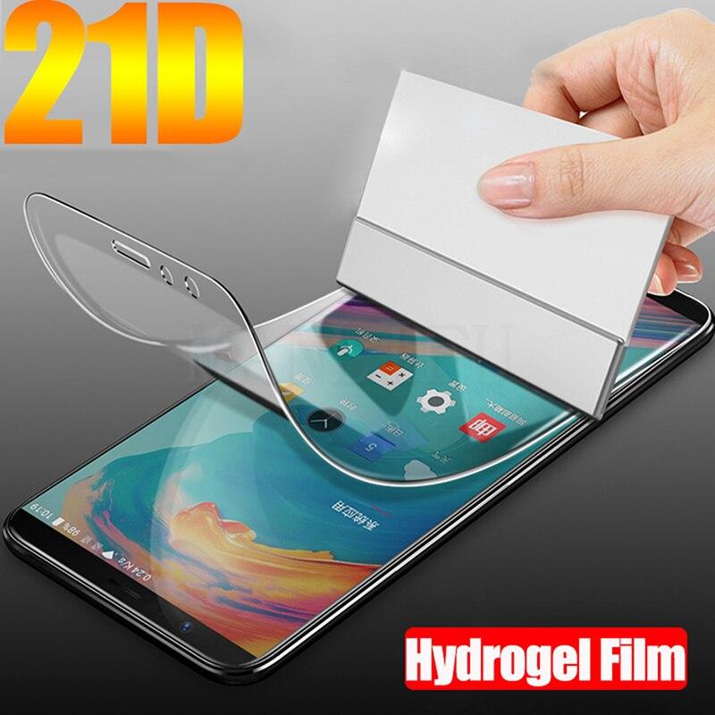 20D protectora completa película de hidrogel suave para Nokia 7,1, 6,1, 5,1, 3,1, 7,2, 7 8,1 8 Sirocco 6 Pantalla de Tpu Protector de película (no de vidrio)