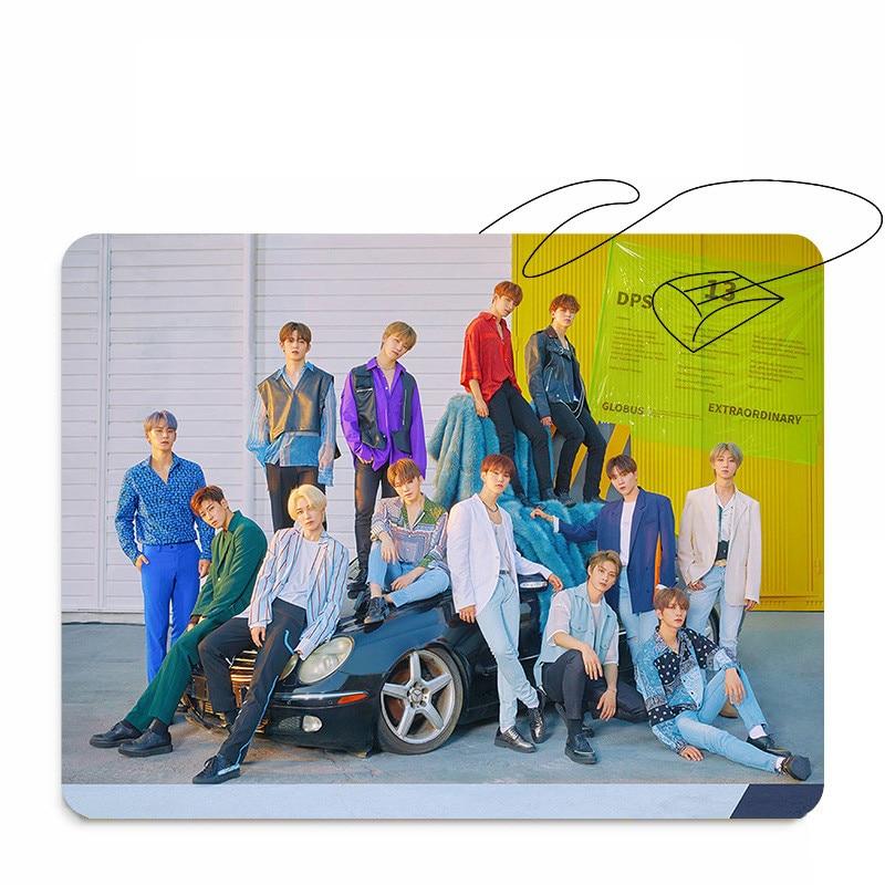 Kpop SEVENTEEN HIT Album Thicken Pad Fashion Silica Gel Rubber Mouse Pad 26*21CM