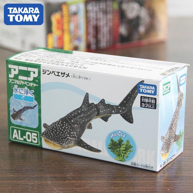 Takara Tomy ANIA Tier Advanture AL-05 Whale Shark Schwimm in Wasser Kinder Pädagogisches Spielzeug
