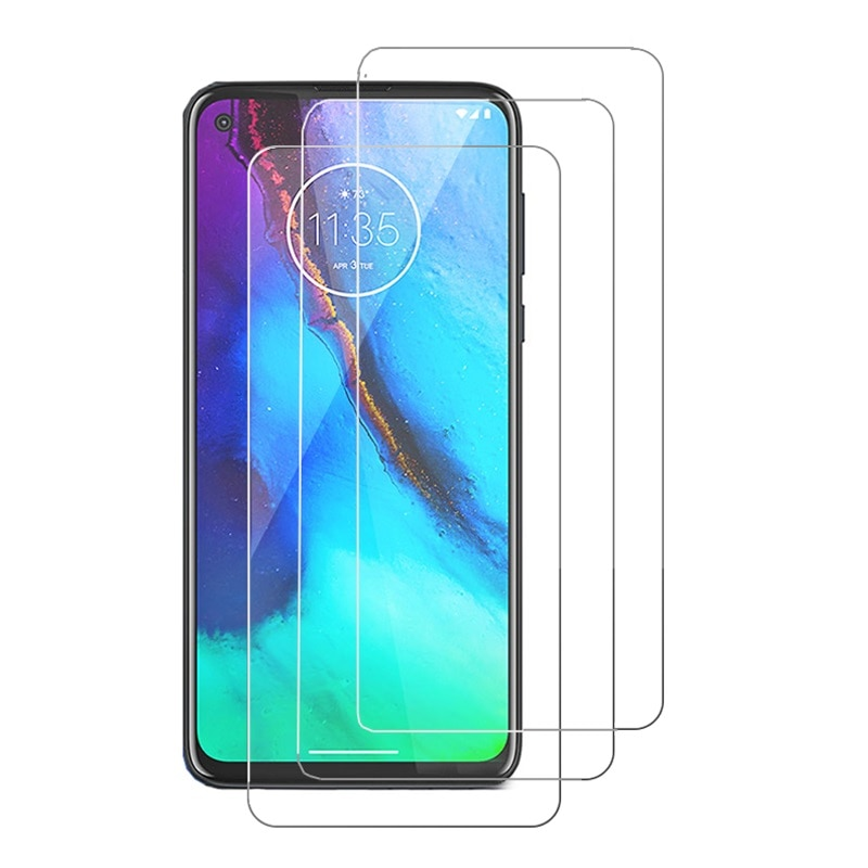 Tempered Glass for Motorola Moto G9 G8 Power G Stylus G Fast G Pro E One Vision Screen Protector Glass for E7 Plus E6S Film