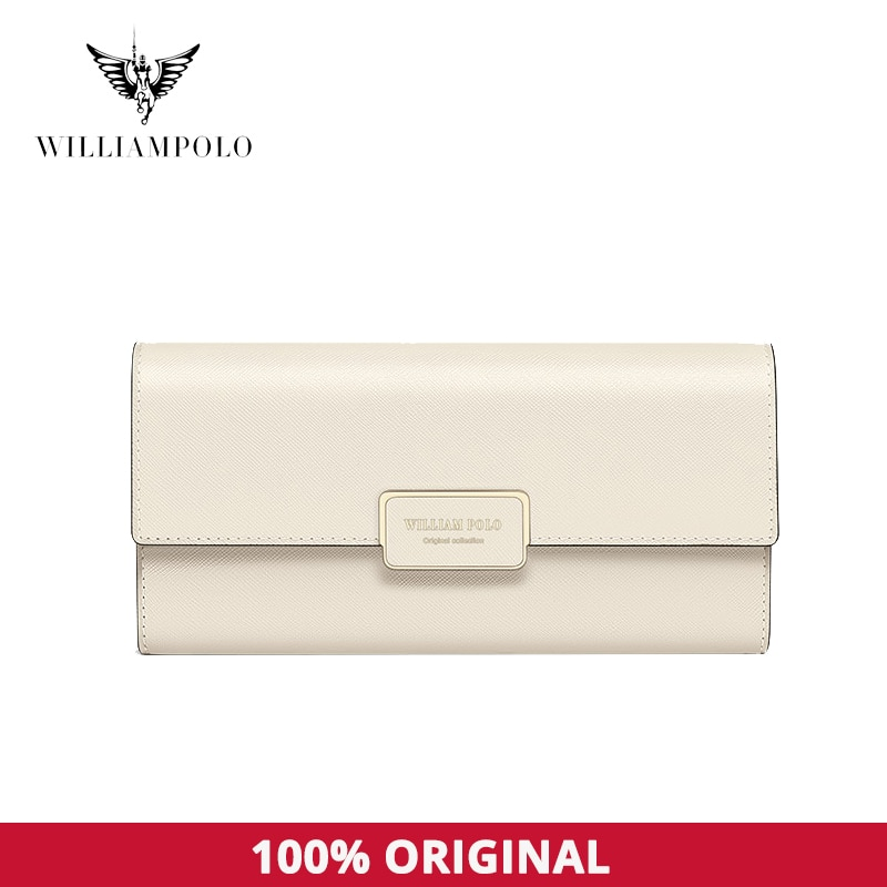 Leather Wallet For Women Fashion Hand Wallet High Grade Large Capacity Mobile Phone Bag Multi Function Card Holder