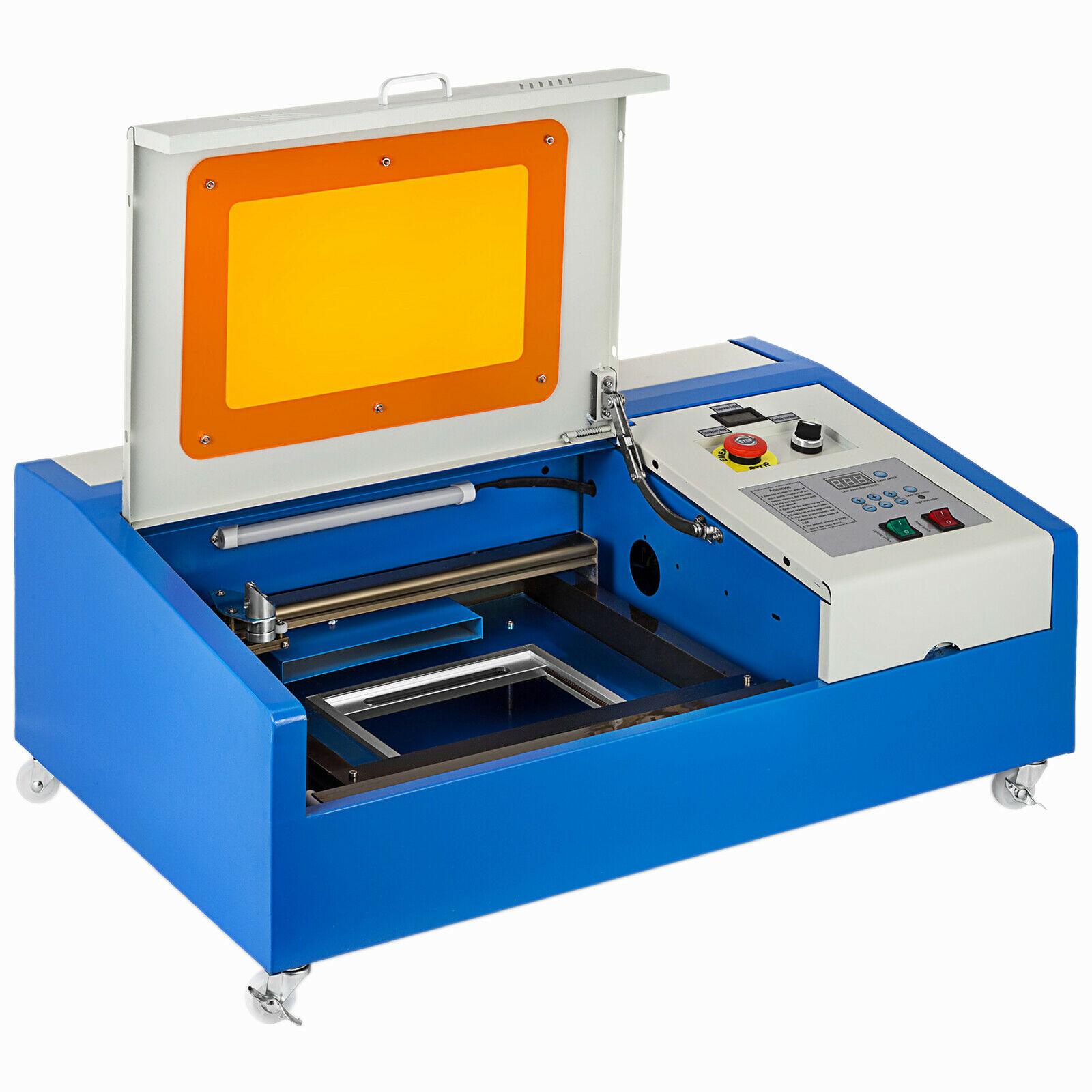 آلة النقش بالليزر 40W CO2 الحرف ، آلة قطع الطوابع