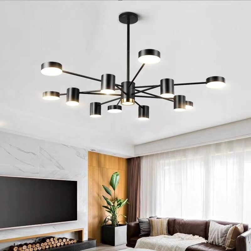 Современные скандинавские светодиодные потолочные люстры, освещение для дома, потолочная лампа для спальни, подвесные светильники, креати...