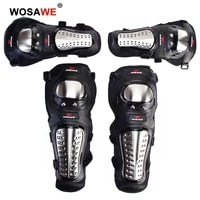 wosawe motorcycle knee pads protector motocross snowboard skateboard ski roller hockey sports protection support mtb kneepads
